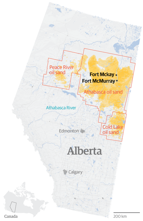 Fort McKay: the Canadian town that sold itself to tar sands